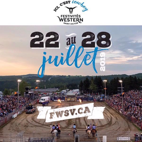 2 billets au rodéo du jeudi 25 ou dimanche 28 juillet pour le prix de 1 | Festivités Western Saint-Victor