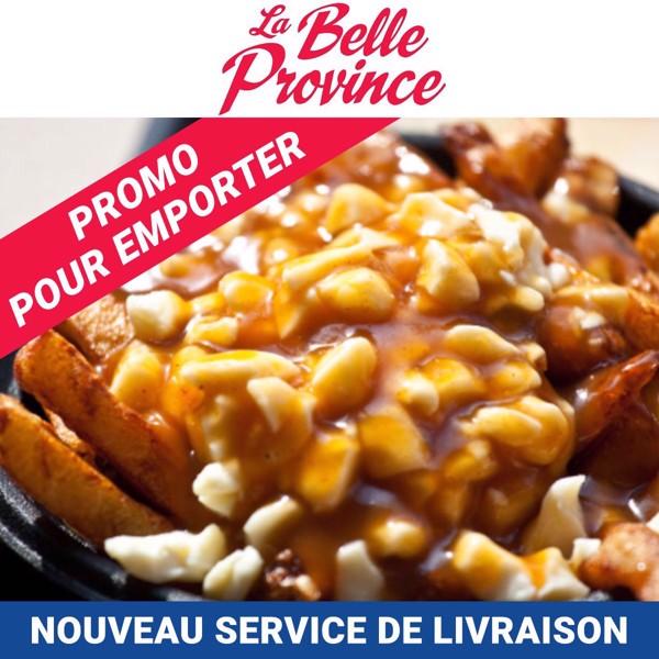 Image sur Payez 15$ et obtenez 20$ | La Belle Province en dîners et soupers
